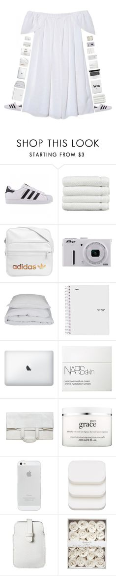 """My heart's got no where to go, only you can rescue me"" by hannahkate123 ❤ liked on Polyvore featuring adidas Originals, Linum Home Textiles, adidas, Nikon, By Nord, NARS Cosmetics, Maison Margiela, philosophy, COVERGIRL and Mossimo"