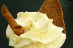 Cuisine de Mercotte… Crème anglaise + Creme pâtissière + Crème chantilly + Crèmes d'amandes + Crème bavaroise + Crème mousseline