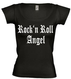 Festival T-Shirt with print Rock'n Roll by TachinedasCreative