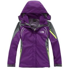 The North Face Women's Triclimate Waterproof Jacket Purple