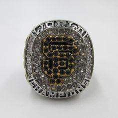 In 2012 San Francisco giants major league baseball major league championship ring, wooden box   Herta Store