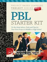 STARTER KIT: PROJECT BASED LEARNING (Buck Institute for Education  BIE.org)    The PBL Starter Kit is written for middle school and high school teachers who are new to PBL. It contains easy to read, brief and to-the-point advice about your first, relatively simple project, with examples and tools to help you plan it well. It can be used as a supplement to BIE professional development workshops or as a stand-alone guide to PBL. The Introduction is Free for Download. http://bit.ly/Lt8W8e