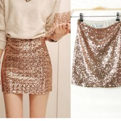 Sequin Gap Skirt Sequin Gap Skirt. NWT!! Got it as a Christmas gift and was too big. Never got to take it back to the store.----------——————————————------------Offers WelcomedPlease use offer button. Thanks GAP Skirts Mini