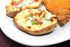 Side Recipe: Twice Baked Potatoes