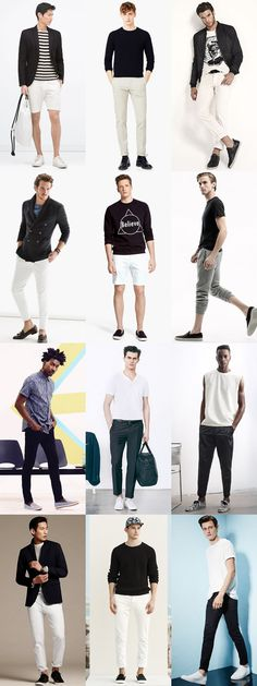 Men's Summer Style: Black Outfit Inspiration Lookbook