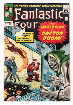 FANTASTIC FOUR #23: Silver Age find featuring Dr. Doom! http://www.ebay.com/itm/FANTASTIC-FOUR-23-Silver-Age-find-featuring-Dr-Doom-/301417134186?roken=cUgayN&soutkn=CPoP3M