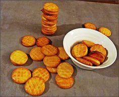 Z ghetta blog: Francouzské sušenky sablés Pretzel Bites, Sweet Potato, Pancakes, Potatoes, Bread, Blog, Cookies, Vegetables, Breakfast
