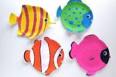 papperstallrikar akvariefiskar