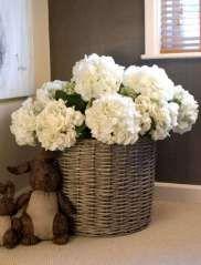 Hydrangea Basket (round)