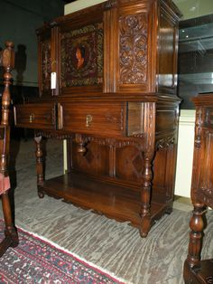 Must have antiques on pinterest antiques curved glass for Furniture r us philadelphia