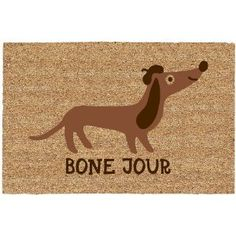 Attractive $16 Bone Jour Door Mat. Avery Said We Need This.