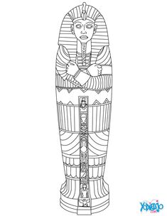 Do you want to help your child discover Egypt in fun, yet educational way? These ancient Egypt coloring pages will enthrall him greatly! Check & print for your kid. Ancient Egypt Lessons, Ancient Egypt Activities, Ancient Egypt Crafts, Ancient Egypt For Kids, Egyptian Crafts, Egyptian Art, Ancient History, Egyptian Tattoo, Ancient Egypt Mummies