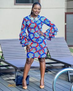 African Girl, African Print Fashion, African Wear, African Attire, African Fashion Dresses, African Dress, Fashion Outfits, African Clothes, African Style