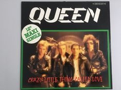"Queen Crazy little thing called love/We will rock - 12""- GERMANY only release"