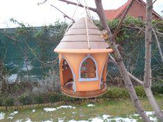 Keramické krmítko.... - keramické krmítko šířka 12 cm, výška 20 cm Bird, Outdoor Decor, House, Home Decor, Decoration Home, Home, Room Decor, Birds, Home Interior Design