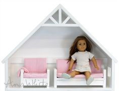 "Ana White | American Girl or 18"" Doll Sofa or Couch Plans - DIY Projects"