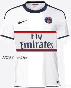 Photo : Maillot extérieur PSG 2012-2013, idée #35 - LudovicPSG - Blog Football.fr
