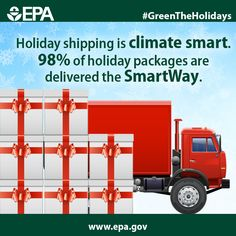 Holiday cheers to the freight carriers who know that the SmartWay is the best way: http://www3.epa.gov/smartway/ #GreenTheHolidays