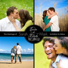 Libby James save the date magnets