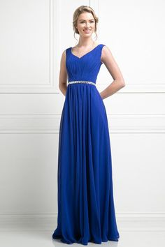 Affordable pleated classy Party Prom Bridesmaid dress in 5 colors 4- 1 – Frugal Mughal