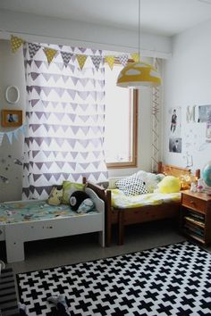 Little girl's and boys room