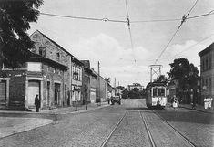 1950 Teltow-Die Strassenbahn 96 fuhr bis zum Mauerbau zwischen Berlin-Lichterfelde Ost ueber Teltow nach Kleinmachnow.