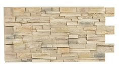 Texture Plus Panels - Stacked Stone Dry Stack Select - Rose Frost - Interlock