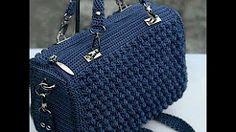 bolsos crochet paso a paso en español - YouTube