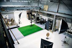 Professional photographic studio