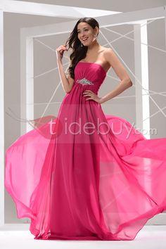 Hot Selling Strapless Empire Waistline Beading A-Line Floor-Length Prom Dress : Tidebuy.com