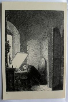 $24.99  THE ART Journal Steel Engraving Print Rembrandt IN HIS Studio BY P A Rajon | eBay #1800's #walldecor #art