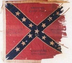 Picketts battle flags   2nd Mississippi Infantry