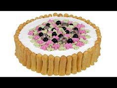 """Закусочный торт """"Дамские пальчики"""". Эффектное оформление для праздничного стола. - YouTube"""