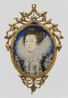 Portrait of a Woman, 1597 Nicholas Hilliard (British, 1547–1619) Vellum