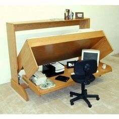 Home Design : Stunning Foldable Office Table Murphy Bed Desk Plans Home Design Foldable Office Table Officeworks Foldable Table' Foldable Office Table India' Foldable Office Table Malaysia and Home Designs Murphy Table, Build A Murphy Bed, Murphy Bed Desk, Murphy Bed Plans, Desk Bed, Desk Chair, Bed Table, Bed Couch, Pc Desk