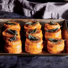 Sweet Potato Stacks with Sage Browned Butter - Our Most Epic Thanksgiving Cookbook - Cooking Light