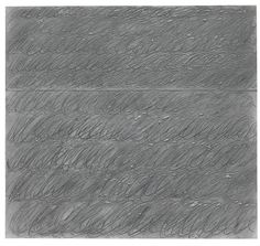 CY TWOMBLY 1928 - 2011 UNTITLED signed and dated NYC Feb 67 on the reverse, oil on paper 20 3/4 x 22 1/2 in