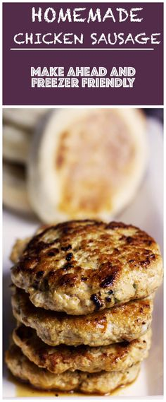 Easy Country-Style Breakfast Chicken Sausage – Cooking Maniac These easy country-style breakfast chicken sausage patties are savoy, juicy and jam-packed with herbs and spiced perfectly. Breakfast Sausage Seasoning, Homemade Breakfast Sausage, Chicken Breakfast, Best Breakfast Recipes, Paleo Breakfast, Homemade Chicken Sausage Recipes, Chicken Patties, How To Cook Sausage, Sausage Making