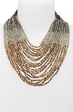 Free shipping and returns on Nakamol Design Multistrand Necklace at Nordstrom.com. Fiery Czech crystals glitter bronze and vermilion in the light, styling a lavish multistrand necklace handcrafted in Thailand.