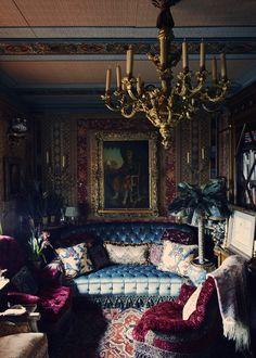151 best decadent sumptuous gothic y images interior decorating rh pinterest com