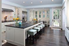 Kitchen View - contemporary - kitchen - dc metro - AHMANN LLC