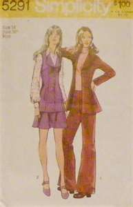 STYLISH. My older sister had this pattern and made multiple outfits. She worked at Cloth World and sewed very well. I was 5 years younger and loved her hand me downs.  I didn't even care if it wasn't in style anymore!