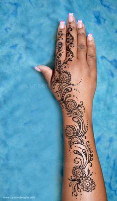 Natasha's Hand Tattoo_Junoon Designs