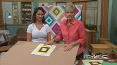 Cabin Fever Quilts, Part One | Discover tricks of modern quilting inspired by the traditional Log Cabin block. You might think that Log Cabin quilt blocks are very predictable—red center block with dark fabric strips added to one side and light strips added to the other. Nancy and guest Natalia Bonner, a modern quilt designer help you discover that with an unconventional approach the expected turns imaginative!