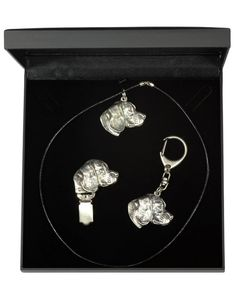 Beagle Dog, Casket, Jewelry Sets, Dog Lovers, Drop Earrings, Statue, Chain, Diamond, Dogs