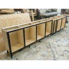 Kitchen cabinets under construction   #rustic #maison #cottage #countrystyle #country #rustiikki #uusvanha  #decorating #interior #furniture #sisustus #maalais #salvage #bespoke #woodworking #puuseppä #cabinetry #kök #kjokken #kjøkken #kitchen #maalaiskeittiö  #puuseppähaukipudas #puuseppäoulu #puusepänliike #customwoodworking #drömkök