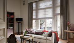 Laat u inspireren door Luxaflex® raamdecoratie. Store Bateau, Sofa, Couch, Roman Shades, Stores, Ramen, Curtains, Design, Furniture