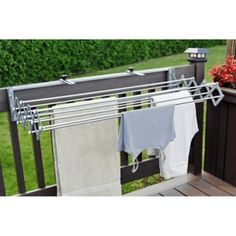 Home Hardware - 32' 9 Line Stainless Steel Retractable Clothesline