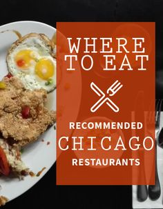 Where to Eat in Chicago - Recommended Restaurant Guide
