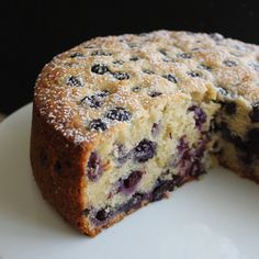 Blueberry Lemon Ricotta Tea Cake ) ) Soft, tender lemon ricotta tea cake full of bursting fresh blueberries, with a hint of lemon. An easy recipe perfect for afternoon teatime. Tea Cakes, Food Cakes, Cupcake Cakes, Blueberry Cake, Blueberry Recipes, Baking Recipes, Dessert Recipes, Baking Desserts, Cake Baking
